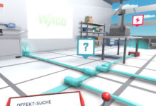 Interaktives VR-Spiel