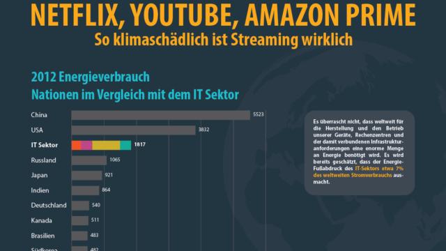 Infografik - Streaming